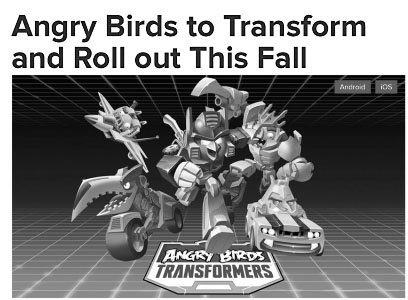 Angry Birds Transforming